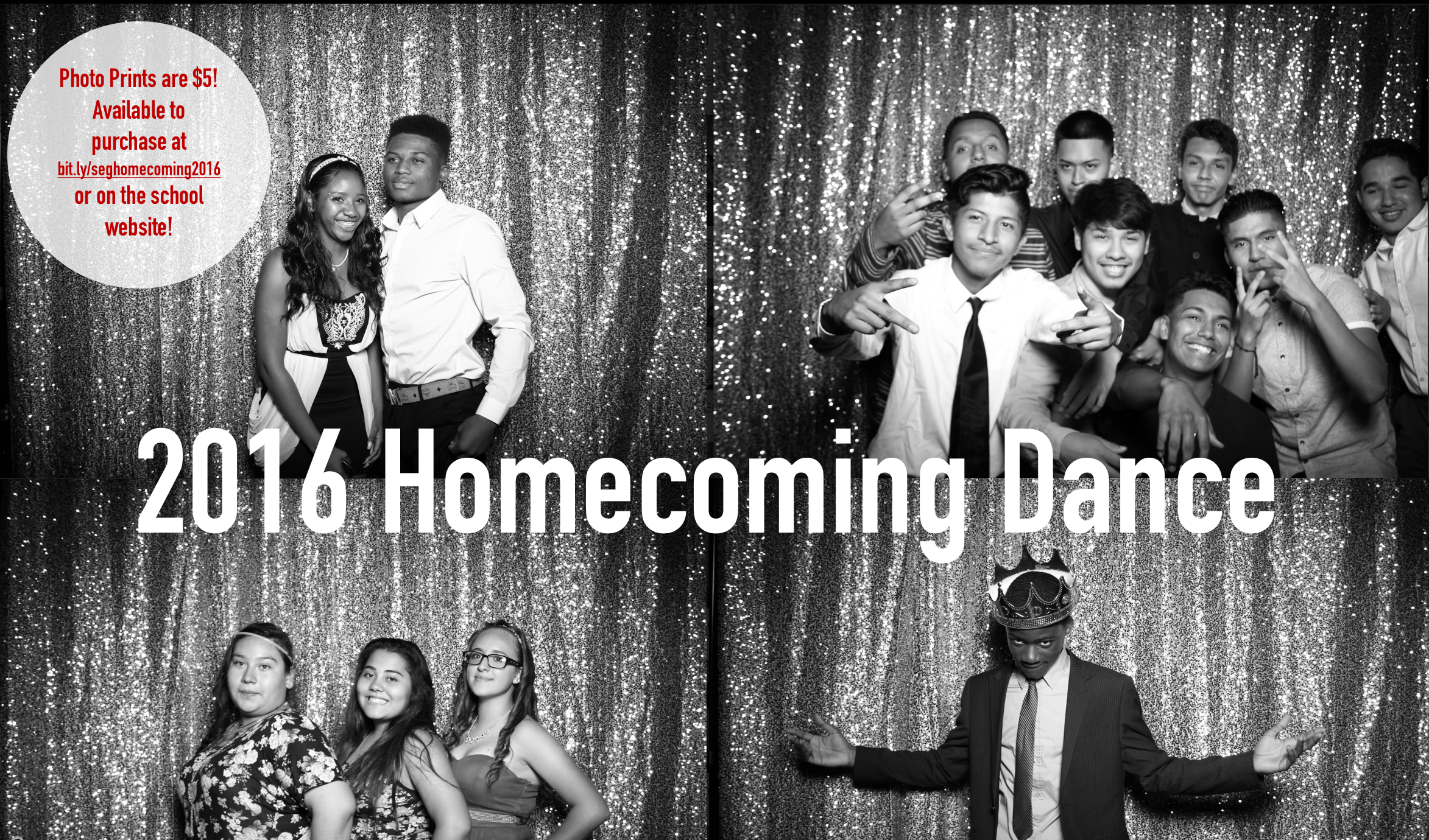 2016 Homecoming Dance Photos Now Available for Purchase!
